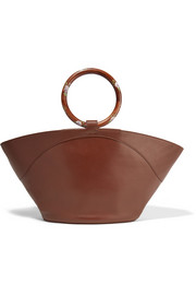 The Row Market leather tote