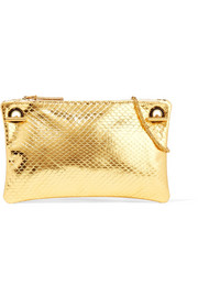 The Row Party Time 7 metallic ayers shoulder bag