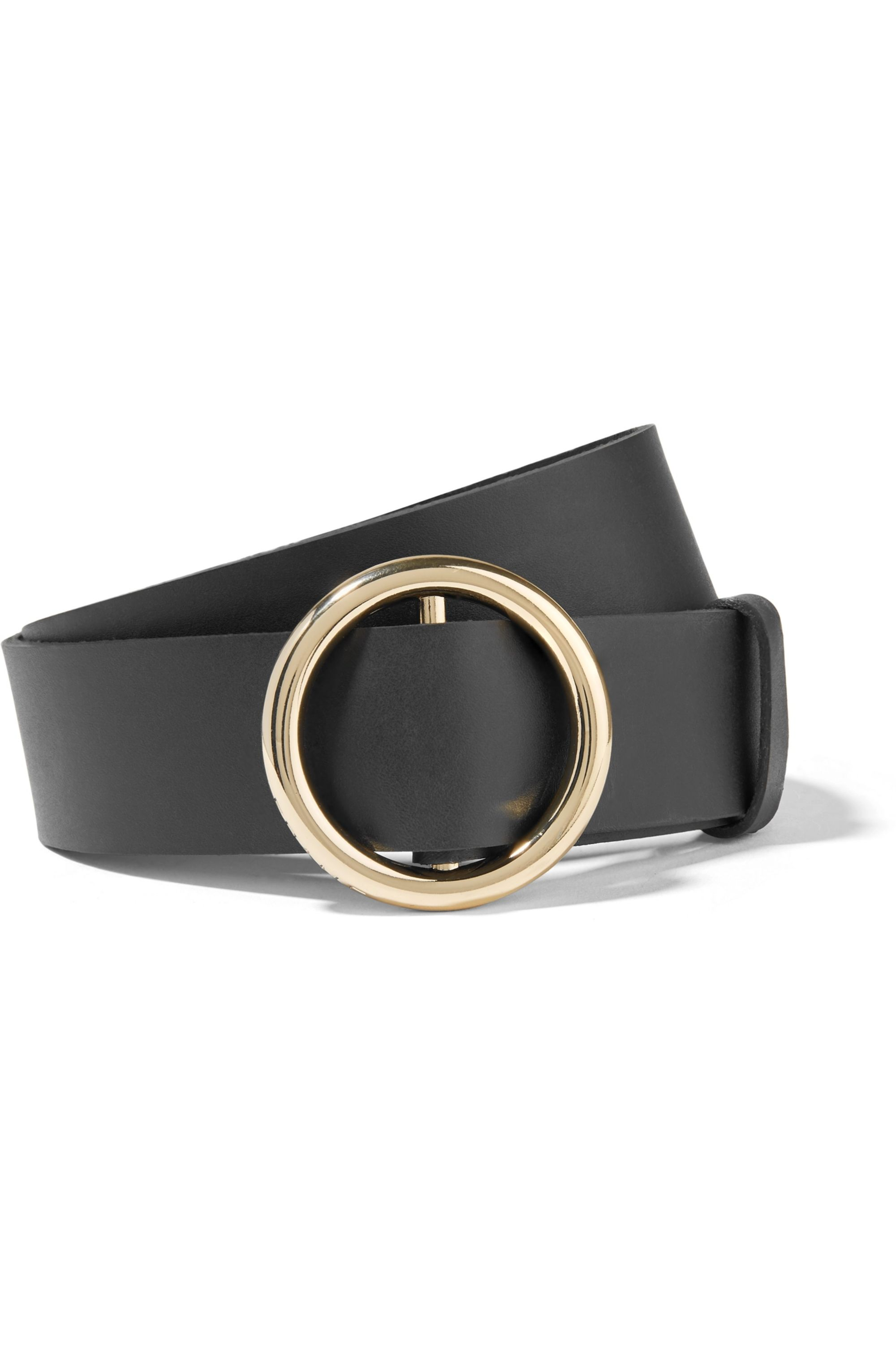 FRAME Circle leather belt