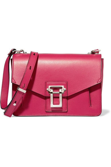 Proenza Schouler - Hava Leather Shoulder Bag - Magenta