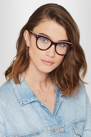 Stella McCartney Cat-eye acetate optical glasses