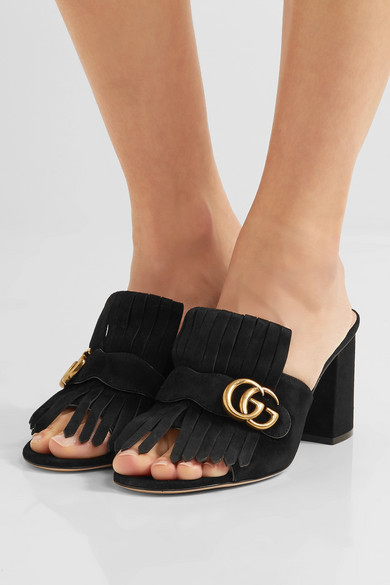 how to wear gucci mules