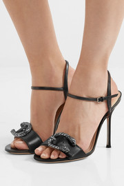 Gucci Dionysus leather sandals