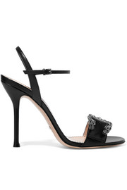 Dionysus leather sandals