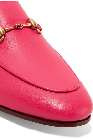 Gucci Brixton Loafers aus Leder mit Horsebit-Detail und einklappbarer Fersenpartie Billig Verkaufen Wiki Große Diskont Online Qualität Outlet-Store Großer Verkauf Zum Verkauf Billig Verkaufen Kaufen 9RUlw4Oq94