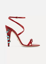 Gucci Embellished leather sandals