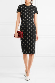 Victoria Beckham Embroidered jacquard dress