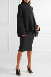Victoria Beckham Stretch-crepe pencil skirt
