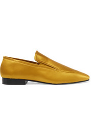 Joseph Satin loafers