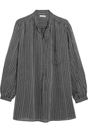 Jana striped cotton shirt