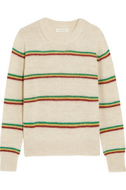 Goya striped alpaca-blend sweater