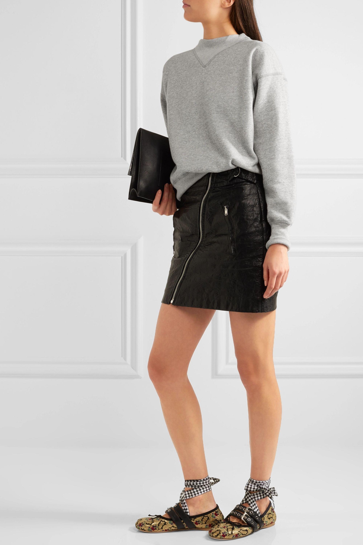 Isabel Marant Étoile Bailee cotton-blend sweatshirt