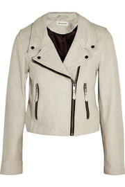Étoile Isabel Marant Aken washed-leather biker jacket