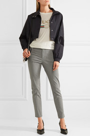 Étoile Isabel Marant Rhett houndstooth cotton-blend skinny pants