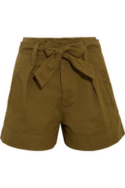 Oscar cotton-twill shorts