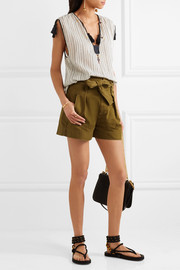 Étoile Isabel Marant Oscar cotton-twill shorts