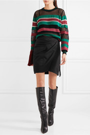Étoile Isabel Marant Deacon striped knitted sweater