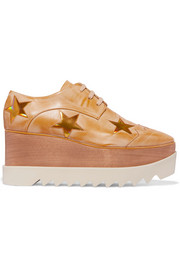 Stella McCartney Faux leather platform brogues