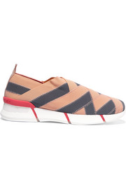 Stella McCartney Woven grosgrain sneakers