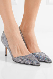 SJP By Sarah Jessica Parker Rampling glittered leather pumps
