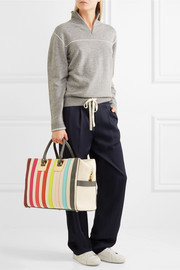 Sophie Hulme Cromwell canvas and leather tote