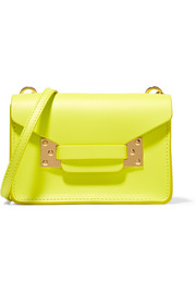 Milner nano neon leather shoulder bag