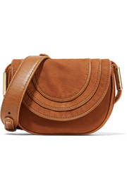 Diane von Furstenberg Bullseye mini nubuck shoulder bag