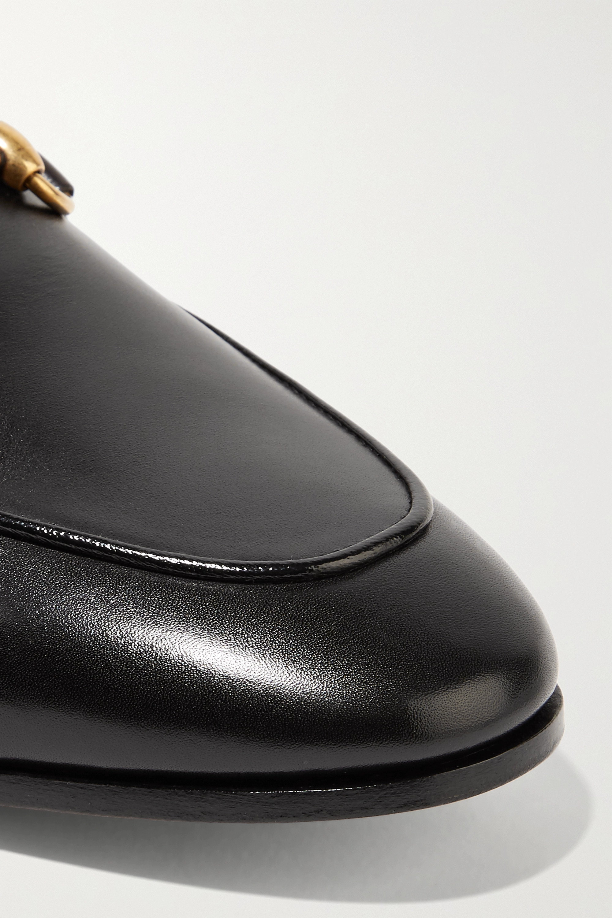 Gucci Jordaan horsebit-detailed leather loafers
