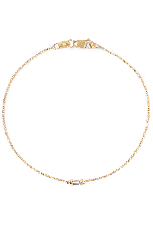 Ileana Makri 18-karat gold diamond bracelet