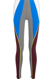No Ka'Oi Kimi color-block stretch-jersey leggings