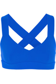 Ola stretch-jersey sports bra