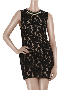 3.1 Phillip Lim | Embellished lace-overlay dress | NET-A-PORTER.COM from net-a-porter.com
