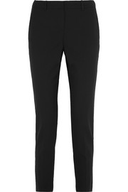 Testra stretch-wool crepe slim-leg pants
