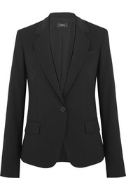Gabe stretch-wool crepe blazer