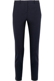 Theory Testra stretch-wool crepe slim-leg pants