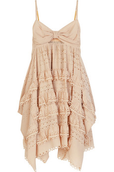 3.1 Phillip Lim Laser-cut silk dress