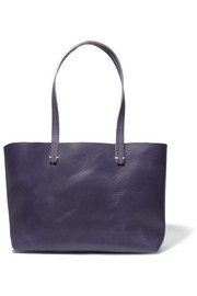 Suki matte-leather tote