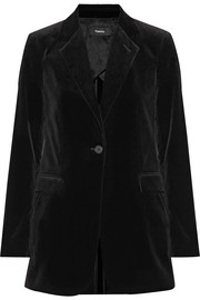 Berdyne B stretch-cotton velvet blazer