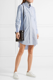 Theory Jodalee striped cotton-poplin shirt dress