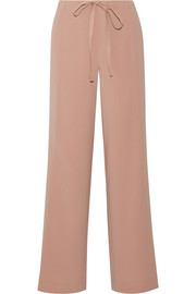 Theory Winszlee crepe wide-leg pants