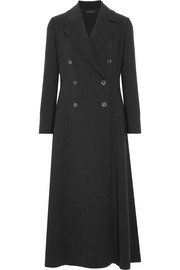 The Row Cameron double-breasted stretch-wool coat