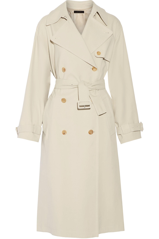 The Row Romtin cotton-canvas trench coat