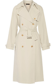 The Row Romtin cotton-canvas trench coat