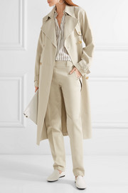 Romtin cotton-canvas trench coat