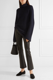 Jose ribbed cashmere and silk-blend turtleneck sweater