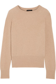 Lenni ribbed camel hair sweater