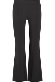 The Row Beca stretch-crepe flared pants