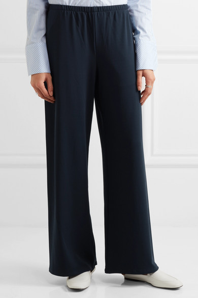 The Row. Lala stretch-jersey wide-leg pants