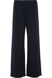 Lala stretch-jersey wide-leg pants