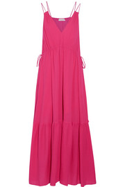 Daphne cotton-crepon maxi dress